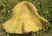 Отдается в дар шляпа зелёная