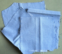 Отдается в дар Материал ткань джинсовая