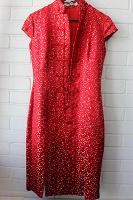 Отдается в дар Китайское красное платье