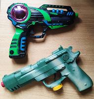 Отдается в дар Игрушки Пистолеты