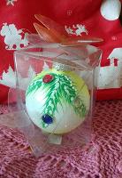 Отдается в дар Стеклянный шарик на ёлку