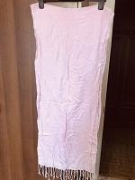 Отдается в дар Нежно-розовый палантин, шарф