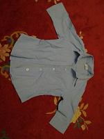 Отдается в дар Голубая блузка 134