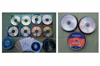 Отдается в дар DVD-диски чистые и с фильмами