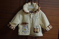 Отдается в дар Пальтишко флисовое детское на 9-12 месяцев
