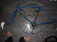 Отдается в дар Фреймсет и навеска от велосипеда