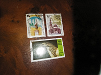 Отдается в дар почтовые марки с памятниками истории и сокровищами