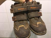 Отдается в дар ботинки зимние 32 размер