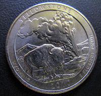 Отдается в дар 25 центов национальный парк