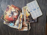 Отдается в дар Игральные карты/календарики 2002