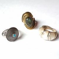 Отдается в дар 3 кольца (17 размер)