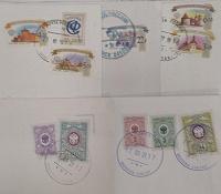 Отдается в дар марки с конвертов, в коллекцию