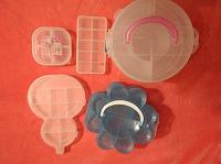 Отдается в дар Контейнеры пластиковые с разделителями для хранения