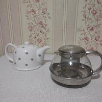 Отдается в дар Два заварочных чайника