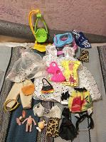 Отдается в дар Одежда и аксы для кукол Барби, Буни.