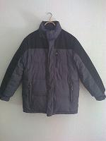 Отдается в дар Куртка-пуховик мужская, двухсторонняя.