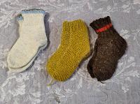 Отдается в дар Детские шерстяные носки