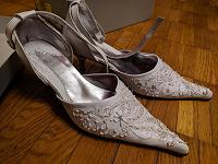 Отдается в дар Свадебные туфли
