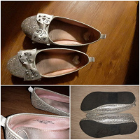 Отдается в дар Нарядные туфли и босоножки