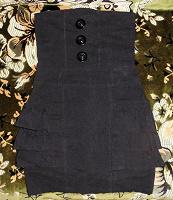 Отдается в дар Школьная юбка-сарафан