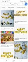 Отдается в дар Воздушные шарики Happy birthday