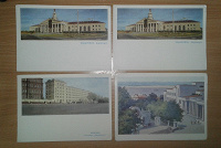Отдается в дар Открытки почтовые «Хабаровск» 1960-1967 год