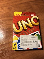 Отдается в дар Игра Uno