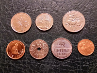 Отдается в дар Семь монет