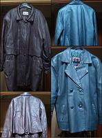 Отдается в дар Кожаные куртки женские, р-р 54 и 52 (XXL и XL), рост 172