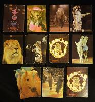 Отдается в дар Советские карманные календарики. Цирк