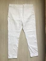 Отдается в дар Белые джинсы р 50+