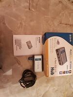 Отдается в дар D-Link USB хаб и Bluetooth адаптер