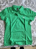 Отдается в дар Поло зелёное размер М