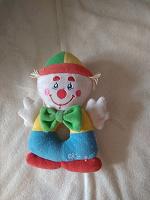 Отдается в дар Клоун погремушка