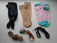 Отдается в дар Носочки и шнурки