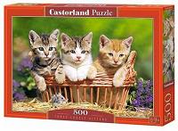 Отдается в дар Пазл Castorland Three Lovely Kittens