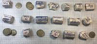 Отдается в дар Монеты СССР 10 копеек 61-91