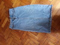 Отдается в дар Узкая джинсовая юбка xs