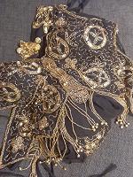 Отдается в дар Костюм для танца живота топ и штанишки+ украшение на голову
