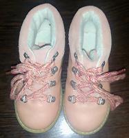 Отдается в дар Ботинки на девочку 21 размер