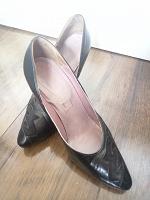 Отдается в дар Туфли-лодочки кожаные 38 размер