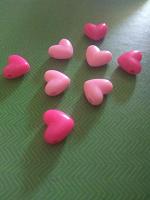 Отдается в дар Бусины сердечки