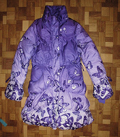 Отдается в дар Зимняя куртка/пальто на девочку-подростка