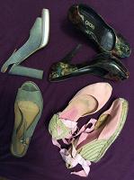 Отдается в дар Летняя обувь Размер 38