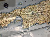 Отдается в дар Карта острова Крит