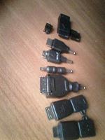 Отдается в дар Переходники ля зарядки мобильных