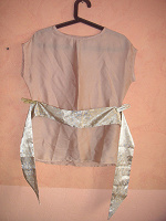 Отдается в дар Блуза под шелк