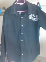 Отдается в дар Рубашка черная