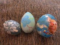 Отдается в дар Деревянные яйца