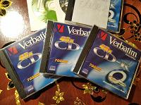 Отдается в дар Диск CD-R Verbatim 700Mb